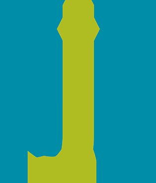 two-tone GJG logo