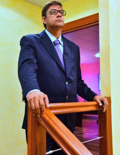 Jacques Gaddarkhan dans les bureaux de GJG